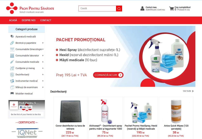 magazin virtual conectat la gestiune, ERP vanzari, CloudSales